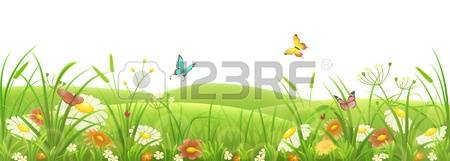 Flowers and grass clipart png royalty free stock 81,405 Grass Flowers Cliparts, Stock Vector And Royalty Free Grass ... png royalty free stock