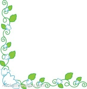 Flowers borders clip art clipart free library Small Flower Borders Clipart - Clipart Kid clipart free library