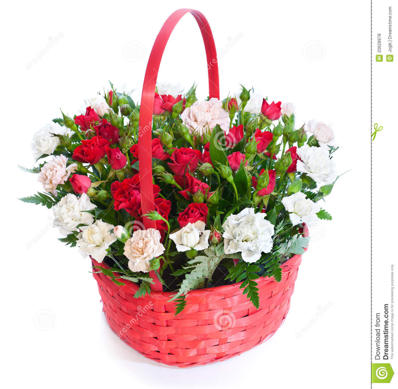 Flowers bouquet pictures free clipart transparent stock Bright Flower Bouquet In Basket Royalty Free Stock Photo - Image ... clipart transparent stock
