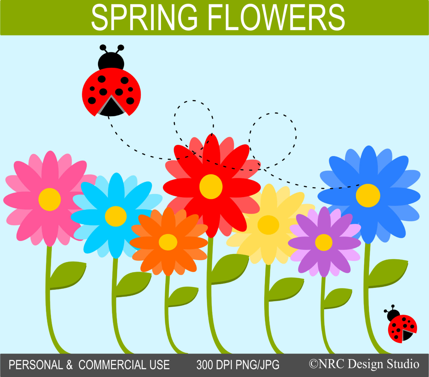 Flowers clip art free clip library stock Spring flowers clip art free - ClipartFest clip library stock