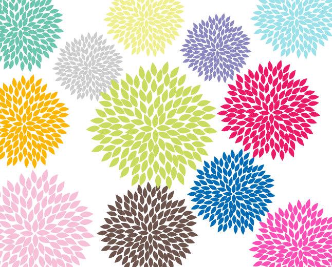 Flowers clip art free svg free stock Cute flower clip art free - ClipartFest svg free stock
