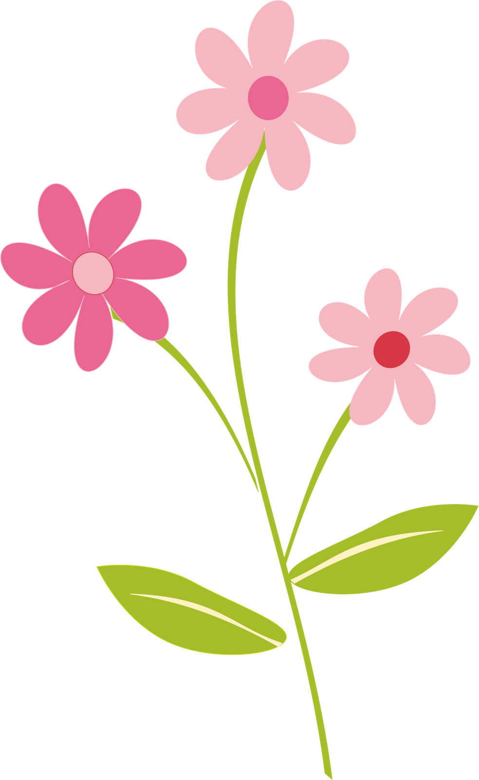 Spring flowers at getdrawings. Flower clipart elegant