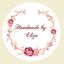 Flowers clipart black and hot pink for round labels jpg library download Floral Stamps & Stickers for sale | eBay jpg library download