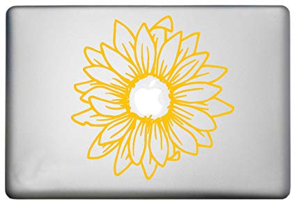Amazon com sunflower silhouette. Flowers clipart stickers for email free signature