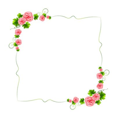 Flowers frame clipart vector freeuse stock Free Flower Cliparts Frame, Download Free Clip Art, Free Clip Art on ... vector freeuse stock