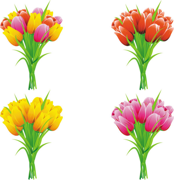 Flowers free clip free stock Exquisite with Flowers free vector 01 - Vector Flower free download clip free stock