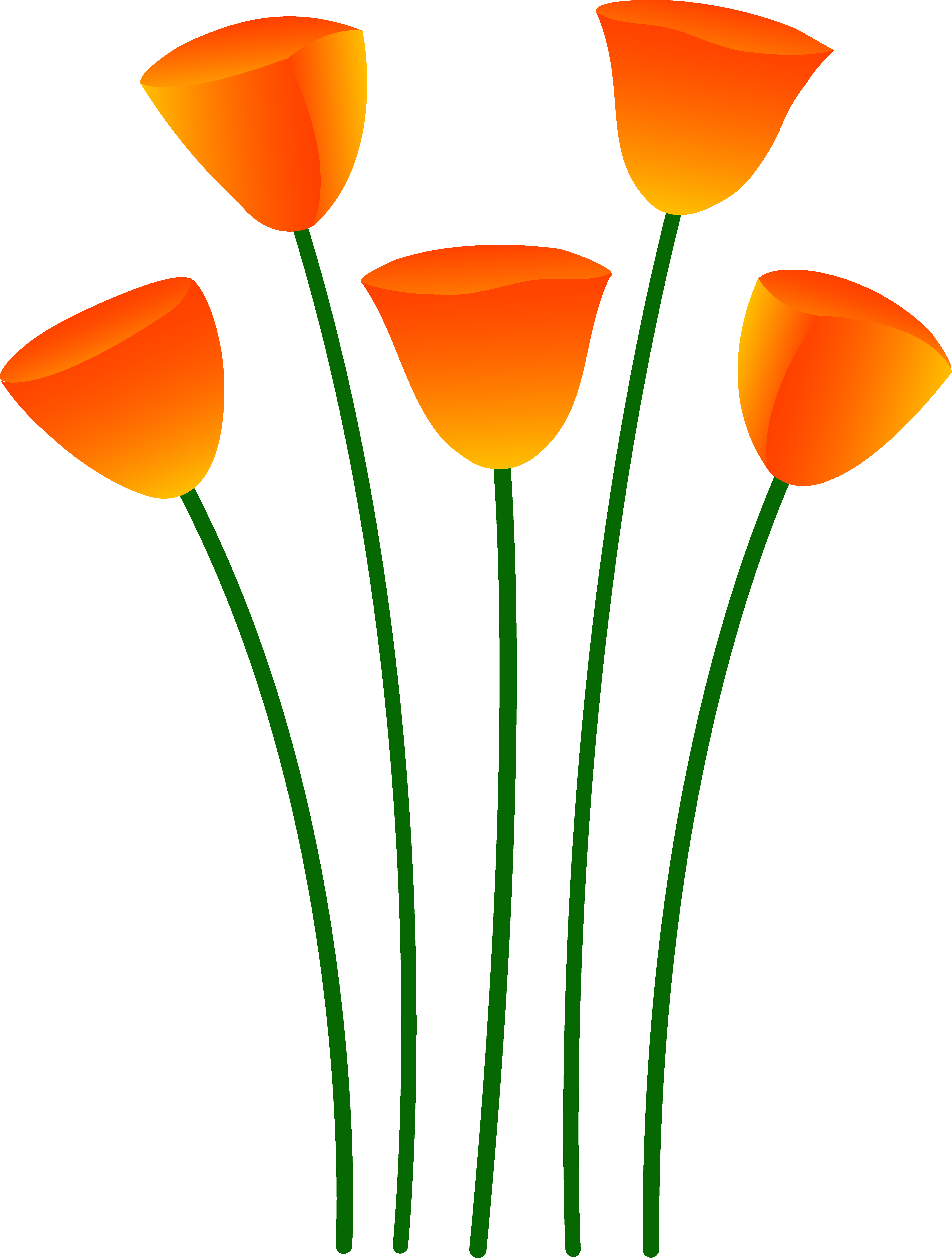 Flowers free clipart pictures clip royalty free stock Orange Flower Clipart | Free Download Clip Art | Free Clip Art ... clip royalty free stock