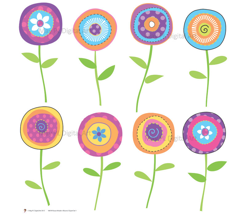Flowers free clipart pictures freeuse Clipart spring flowers free - ClipartFest freeuse