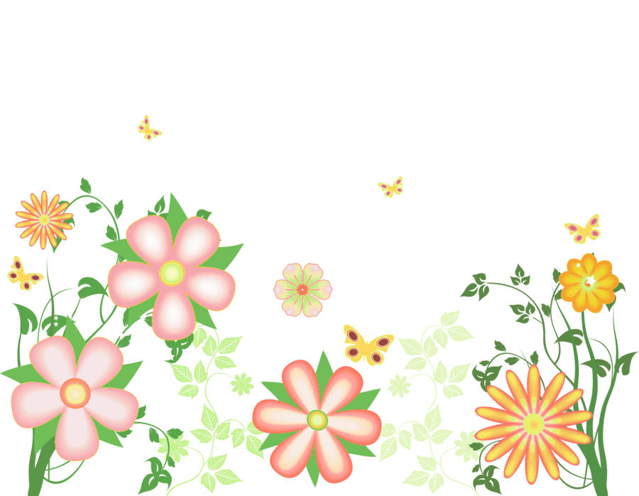 Spring flower clipart transparent svg black and white stock Flowers Images Free | Free Download Clip Art | Free Clip Art | on ... svg black and white stock
