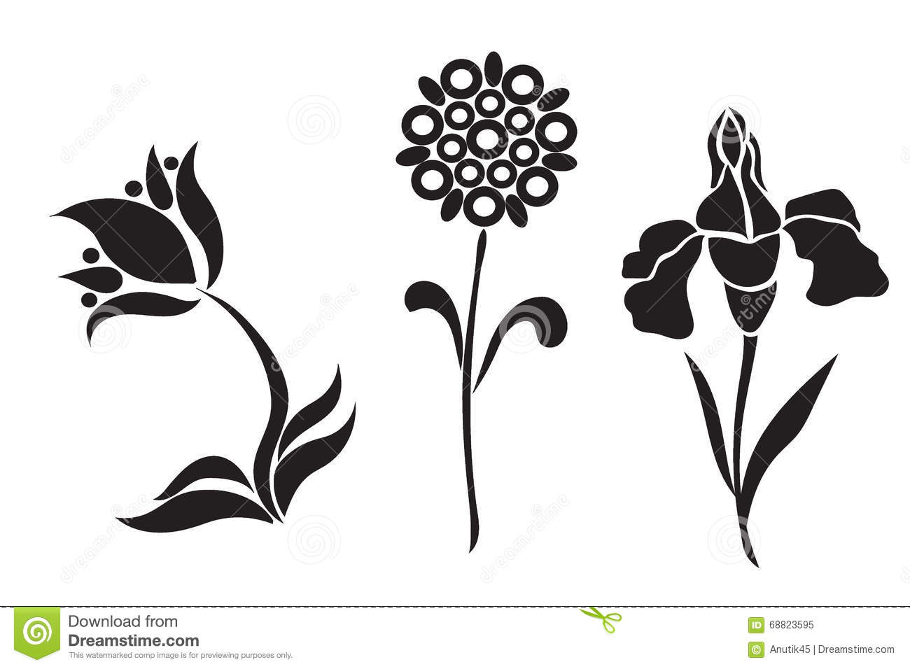 Flowers graphic design free Graphic Design Of Flowers, Vector Illustration Stock Vector ... free