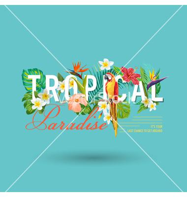 Flowers graphic design graphic Tropical bird and flowers graphic design vector by woodhouse84 ... graphic