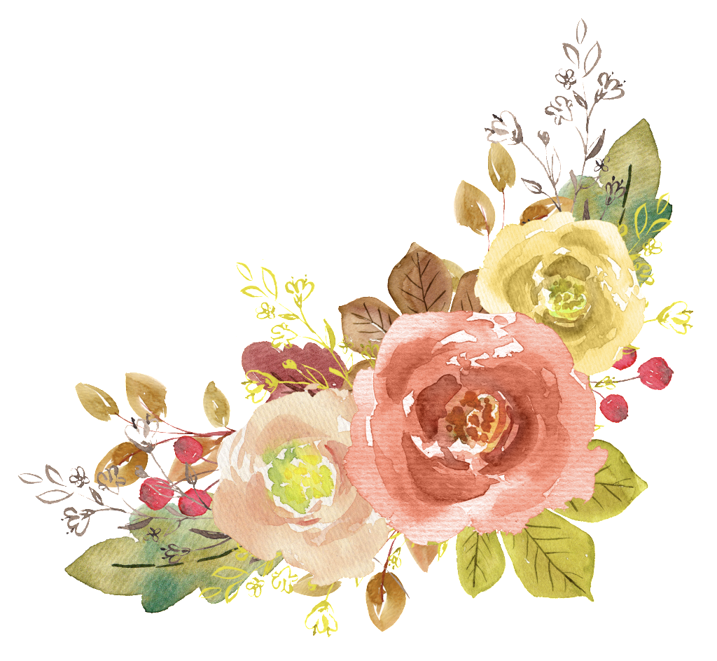 Flowers images free download picture transparent Watercolor Flower Element Free Matting | Free Download | Png Files picture transparent