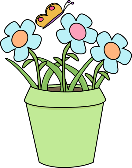 Flowers in the garden clipart. Free flower download clip