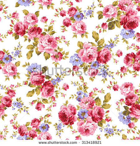 Flowers patterns vector clipart image black and white download Flower Pattern Stock Images, Royalty-Free Images & Vectors ... image black and white download