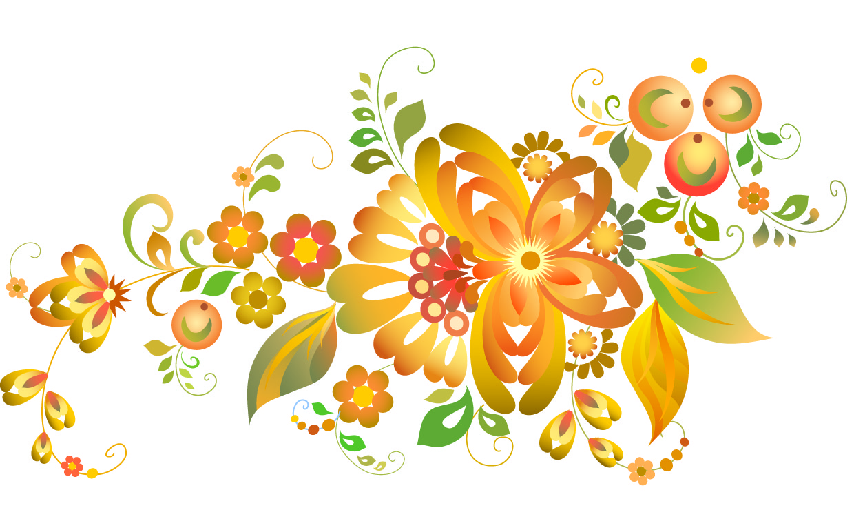Flowers patterns vector clipart clipart free stock Free Vector Flowers | Free Download Clip Art | Free Clip Art | on ... clipart free stock