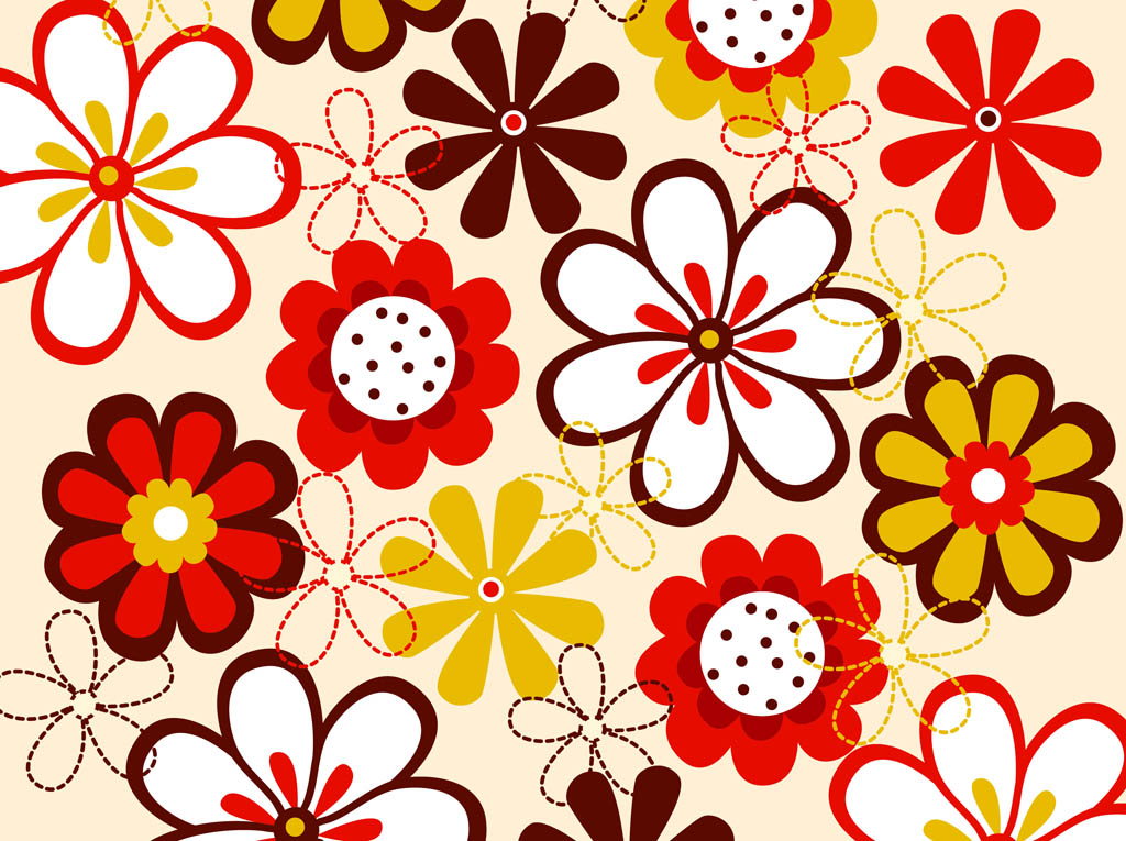 Flowers patterns vector clipart png transparent stock Vector Flowers | Free Download Clip Art | Free Clip Art | on ... png transparent stock
