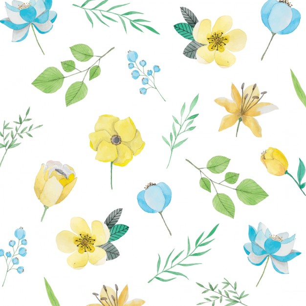 Flowers patterns vector clipart graphic free download Floral Pattern Vectors, Photos and PSD files | Free Download graphic free download