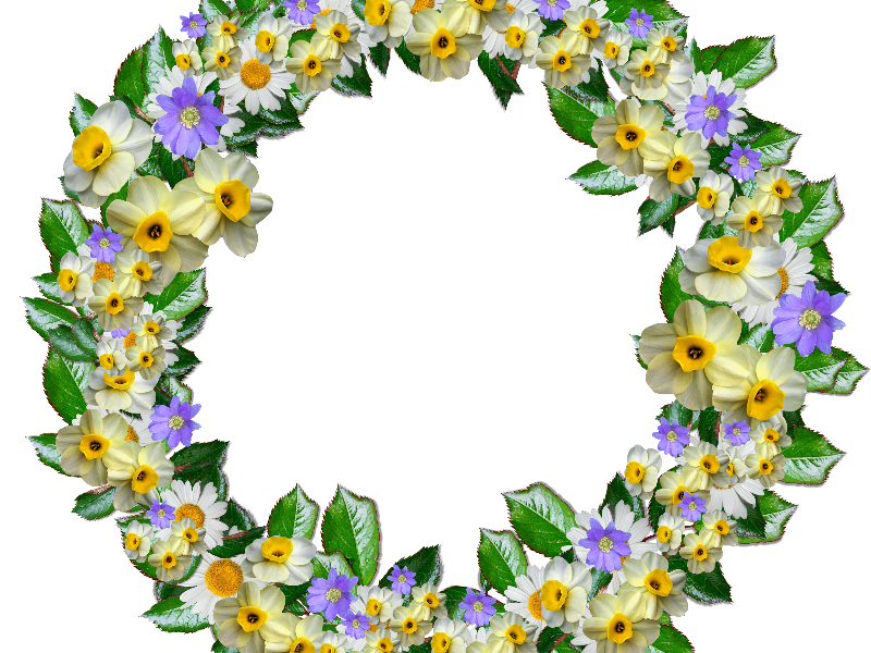 Real png free nature. Flower crown clipart transparent