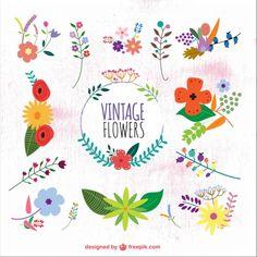 Flowery graphics jpg royalty free Floral Wreaths, Borders & Corners | Vintage, Floral border and ... jpg royalty free