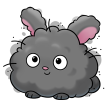 Fluffy bunny clipart picture library download super fluffy bunny illustration | Doodles | Cute drawings, Kawaii ... picture library download