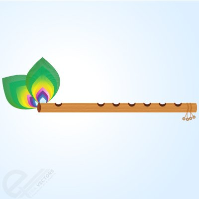 Flute vector clipart clip library Free Flute and Peacock feather Clipart and Vector Graphics - Clipart.me clip library