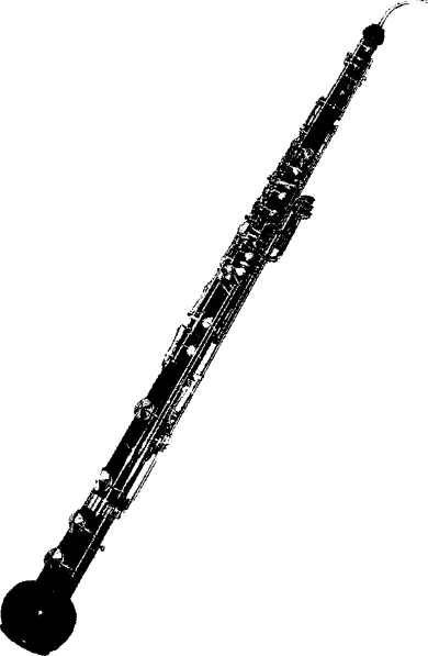 Musical instruments clipart black and white oboe graphic stock Flute Clip Art Vector Online Royalty Free And Public #41320 - Free ... graphic stock