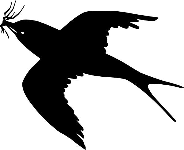 Fly bird clipart. Flying clip art free