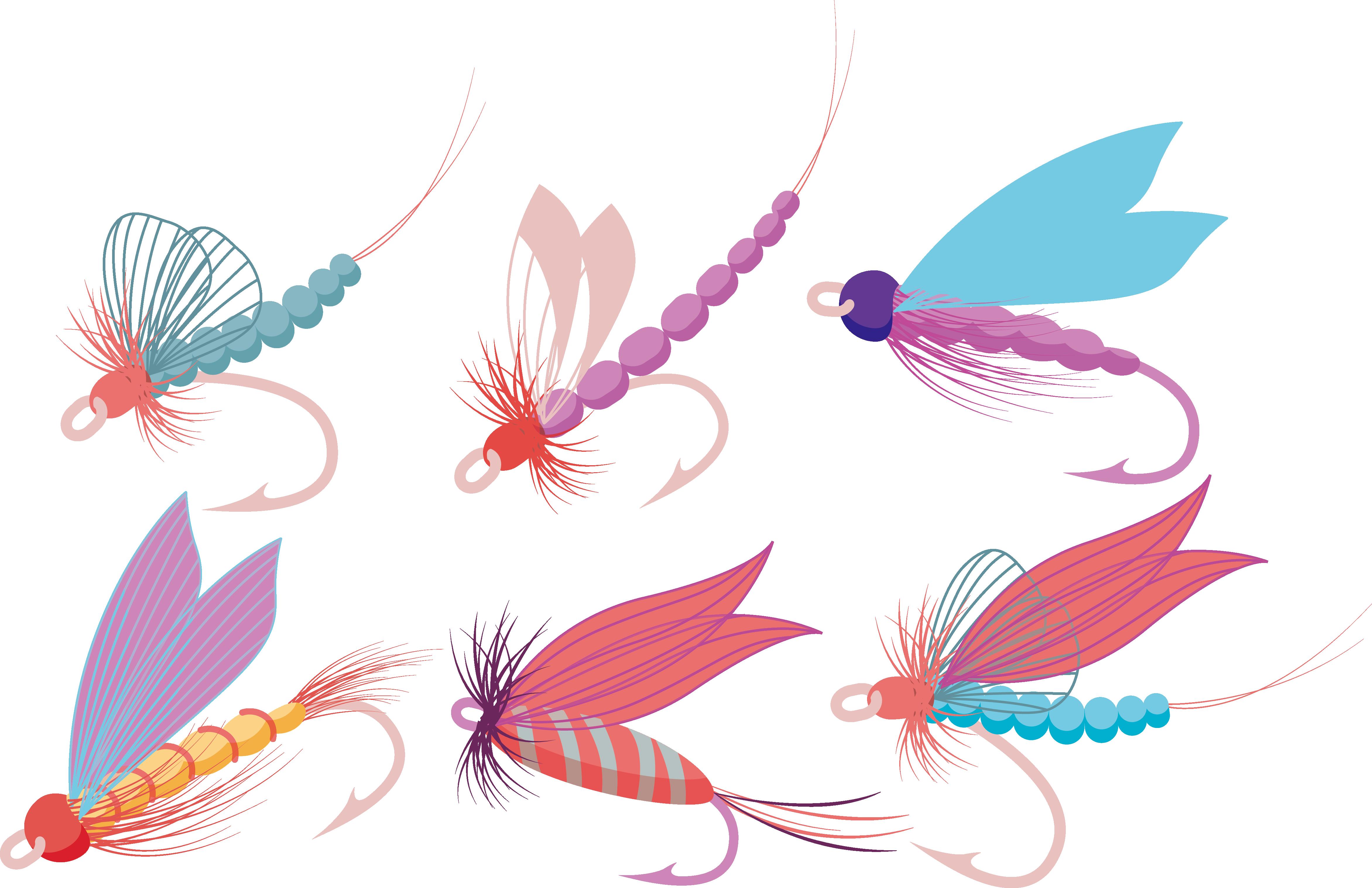 Fly fish hook clipart svg download Fly fishing Fish hook - Cartoon fresh fish hook 4687*3035 transprent ... svg download