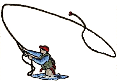 Fly fishing pictures clipart. Cliparts zone