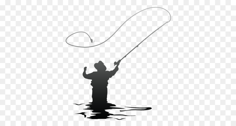 Fly fishing reel clipart