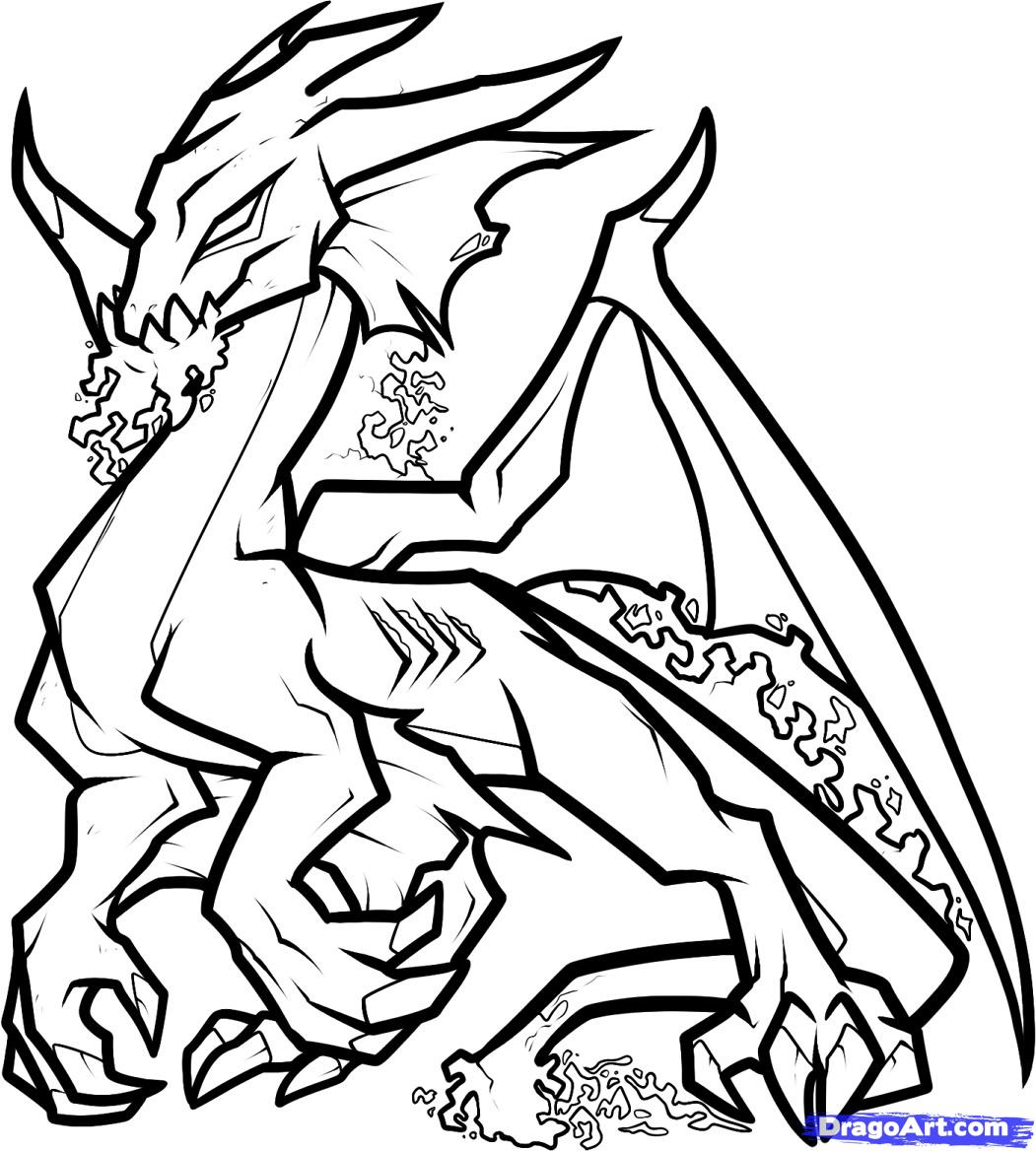 Drawings free download best. Flying baby dragon outline clipart black and white