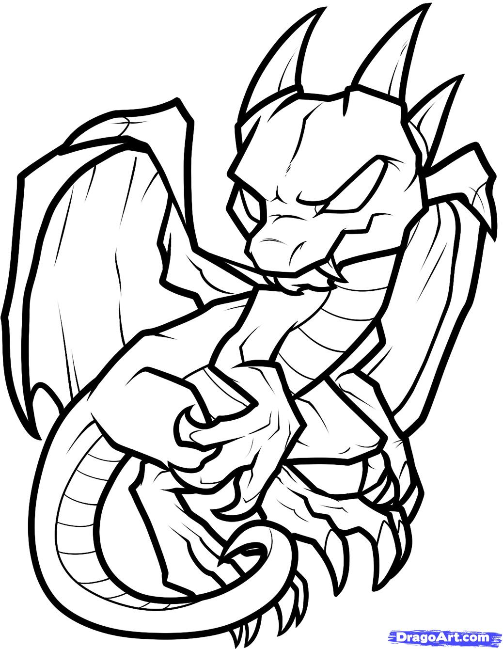 Flying baby dragon outline clipart black and white. Drawings free download best