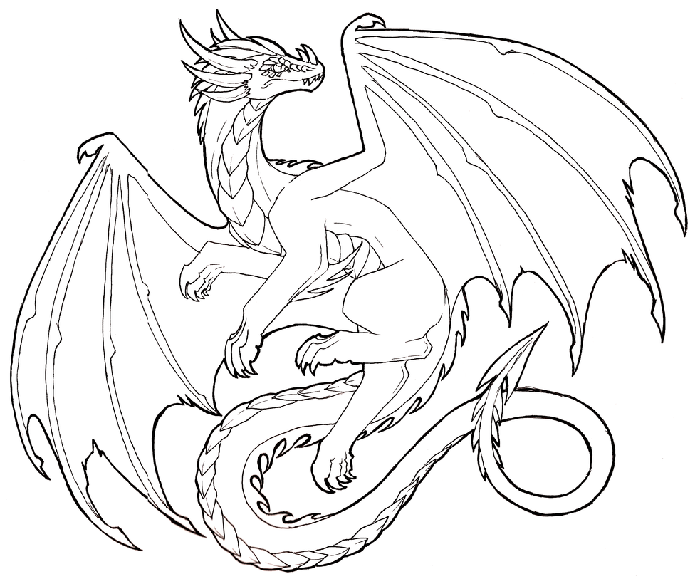 Free drawings download clip. Flying baby dragon outline clipart black and white
