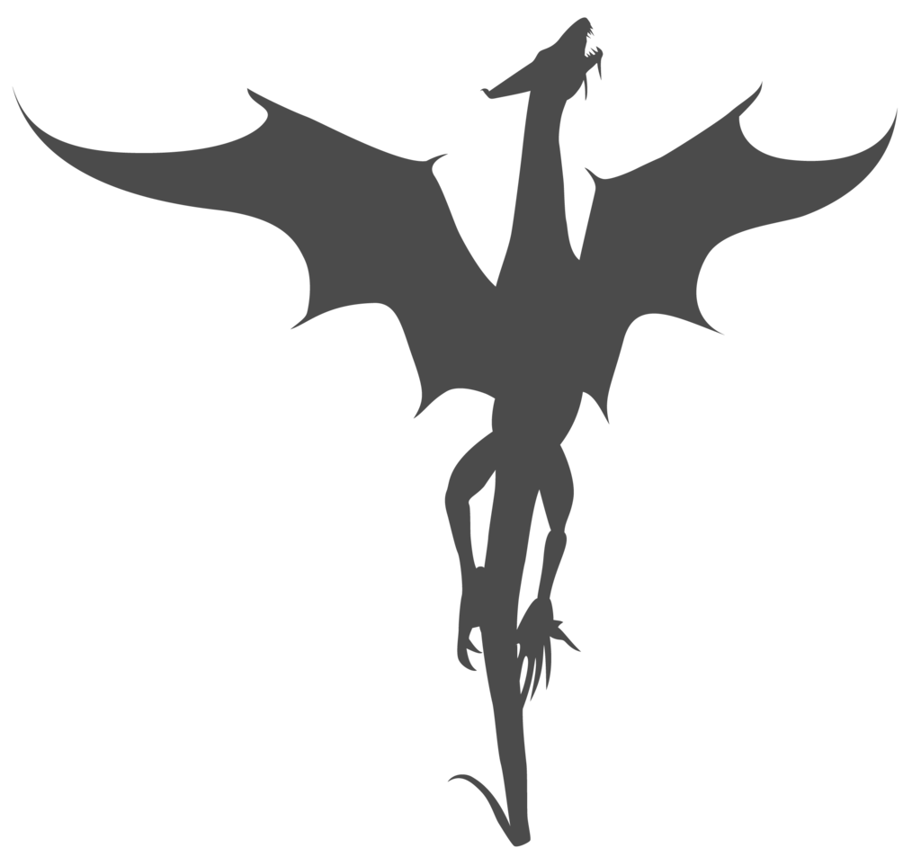 Flying baseball clipart jpg library download Flying Dragon Silhouette | Free download best Flying Dragon ... jpg library download