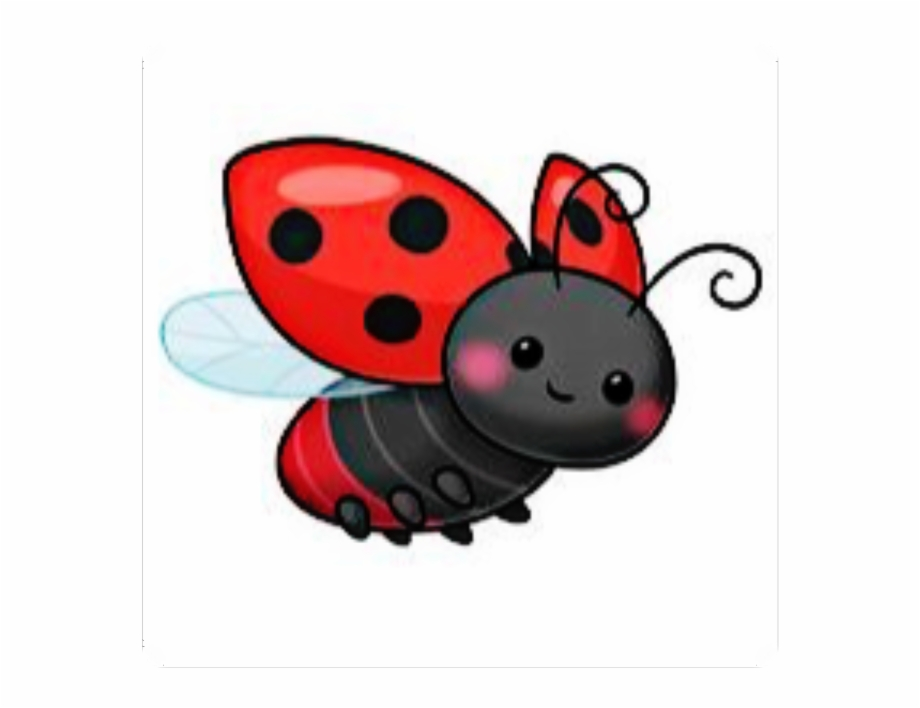 Flying bug clipart clipart library stock ladybug #polkadots #bug #red #flying - Drawing, Transparent Png ... clipart library stock