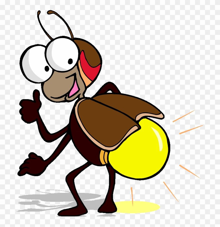 Flying bug clipart jpg freeuse library Funny Flying Bee - Lightning Bug Clipart - Png Download (#1201697 ... jpg freeuse library