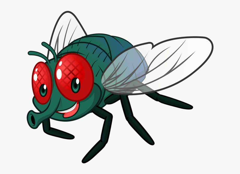 Flying bugs clipart clip library download Cartoon Fly Clip Art Cute Little Bugs Ⓒ - Transparent Cartoon Fly ... clip library download