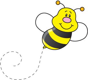 Flying bumble bee clipart svg transparent stock Flying Bee Clipart | Free download best Flying Bee Clipart on ... svg transparent stock