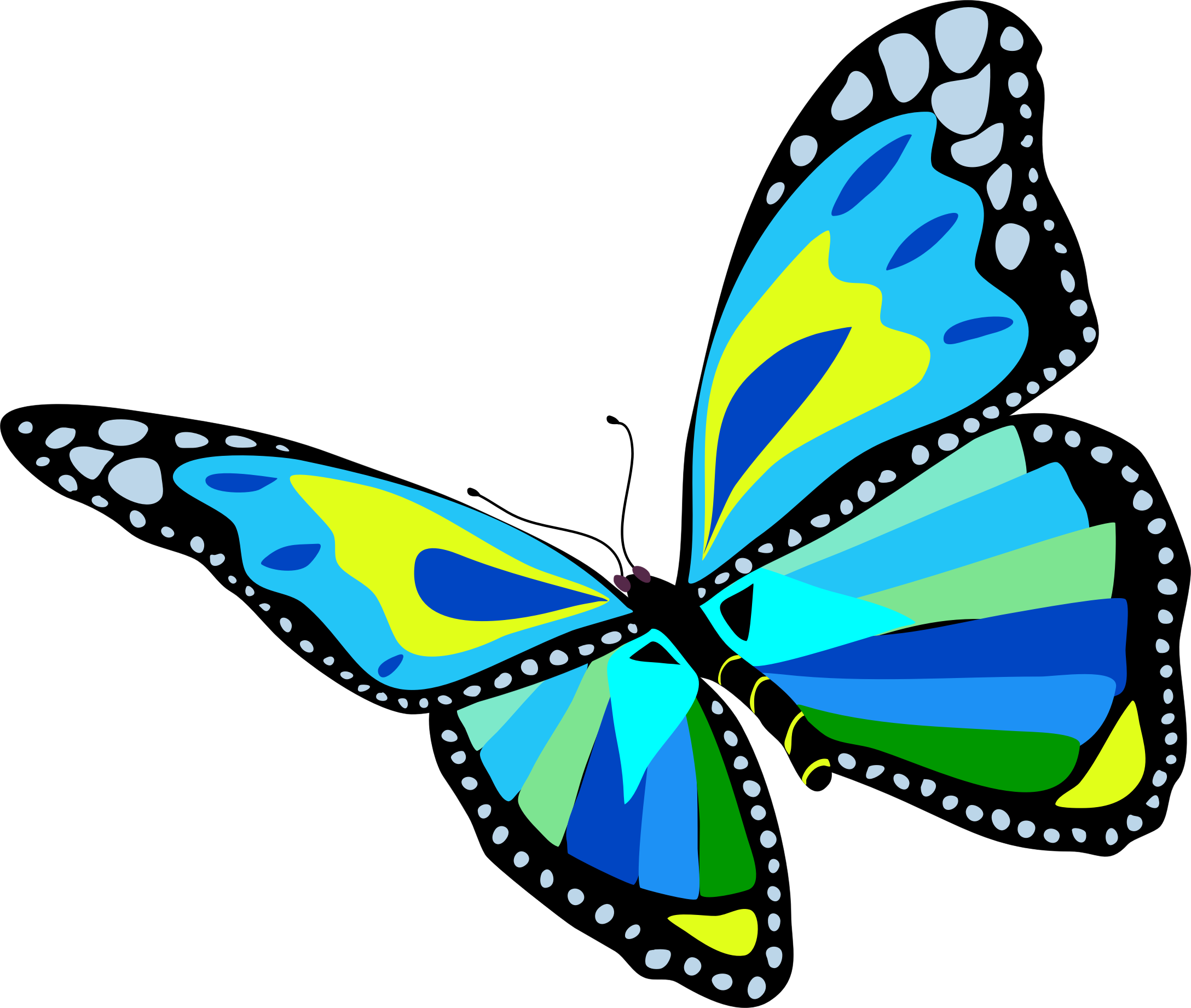 Flying butterfly clipart image clip art black and white download Flying butterfly clipart 8 » Clipart Station clip art black and white download