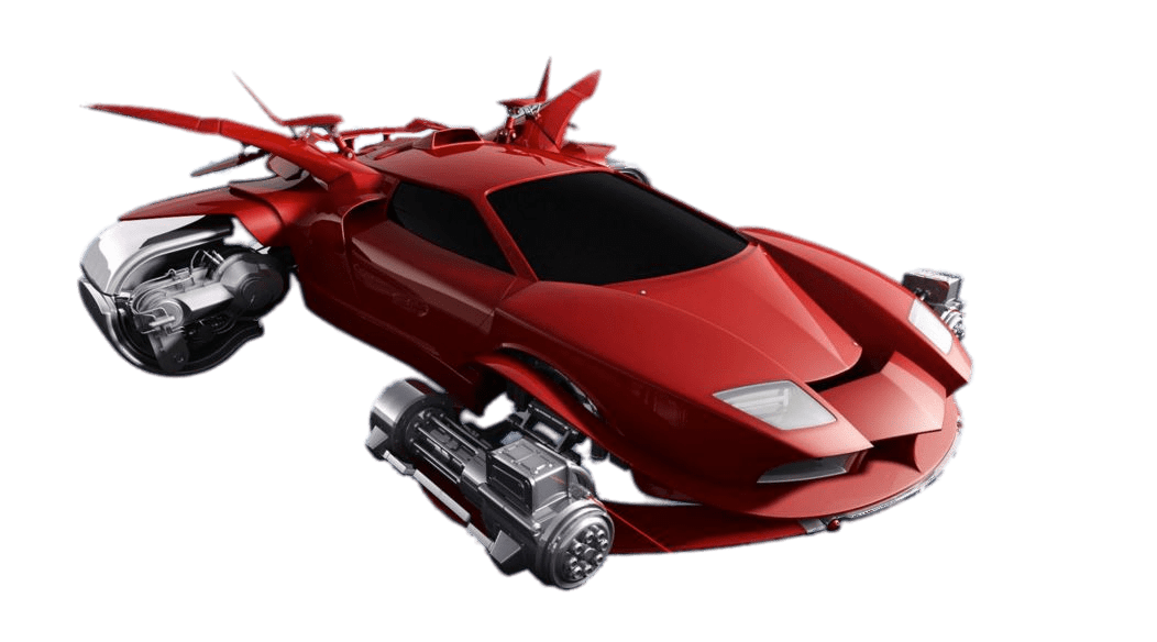 Flying car clipart picture black and white Futuristic Flying Car transparent PNG - StickPNG picture black and white