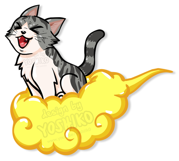 Flying cat clipart png library library Cartoon Cat flying on Jindujun by yoshik0-animation on DeviantArt png library library