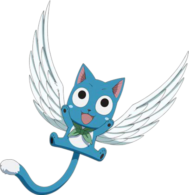 Flying cat clipart vector freeuse download Happy Friends - Giant Bomb vector freeuse download