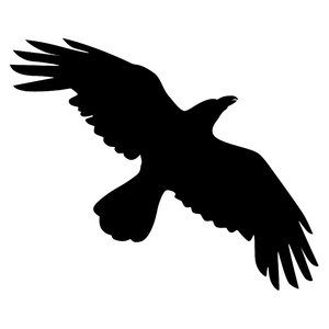 Flying raven clipart royalty free stock Free stock photos - Rgbstock - free stock images | Silhouette Crow ... royalty free stock