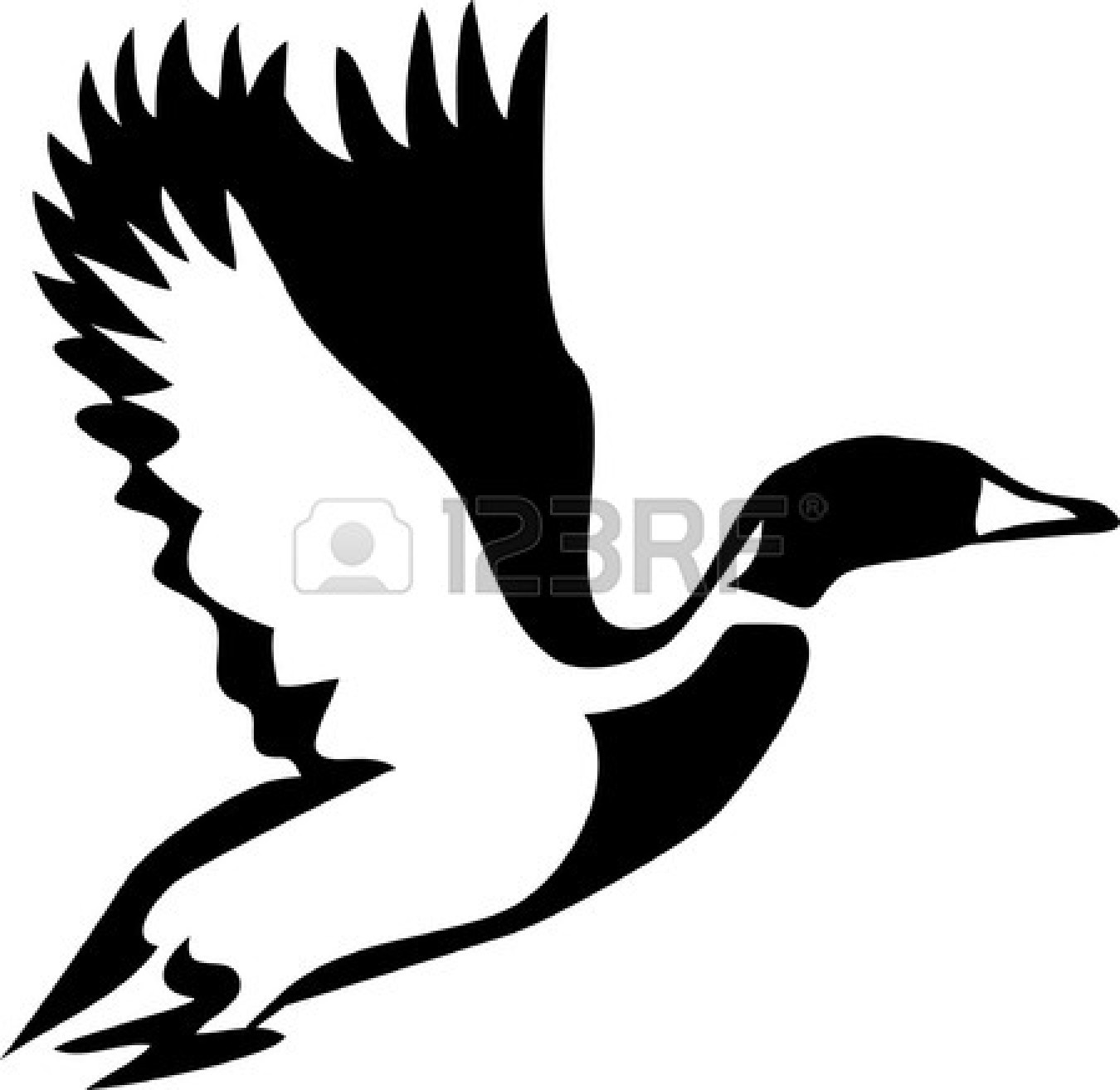 Flying ducks clipart black and white vector free library Free Flying Duck Cliparts, Download Free Clip Art, Free Clip Art on ... vector free library