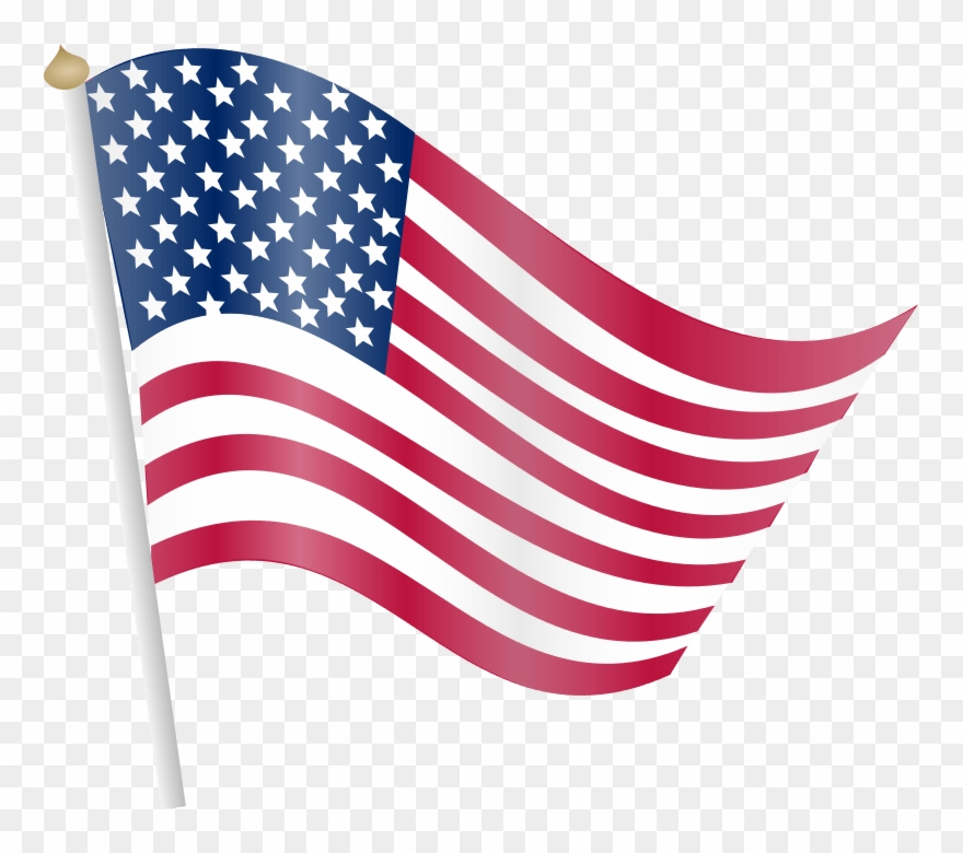 Flying flag clipart graphic transparent download Flying Flags Clipart 4 By Matthew - American Flag Clip Art ... graphic transparent download