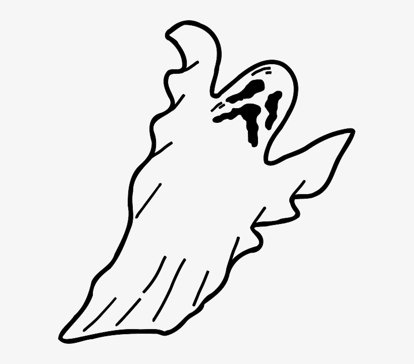 Flying ghost clipart black and white transparent banner transparent Ghost, Scary, Spooky, Halloween, Flying, Floating - Ghost Clipart ... banner transparent