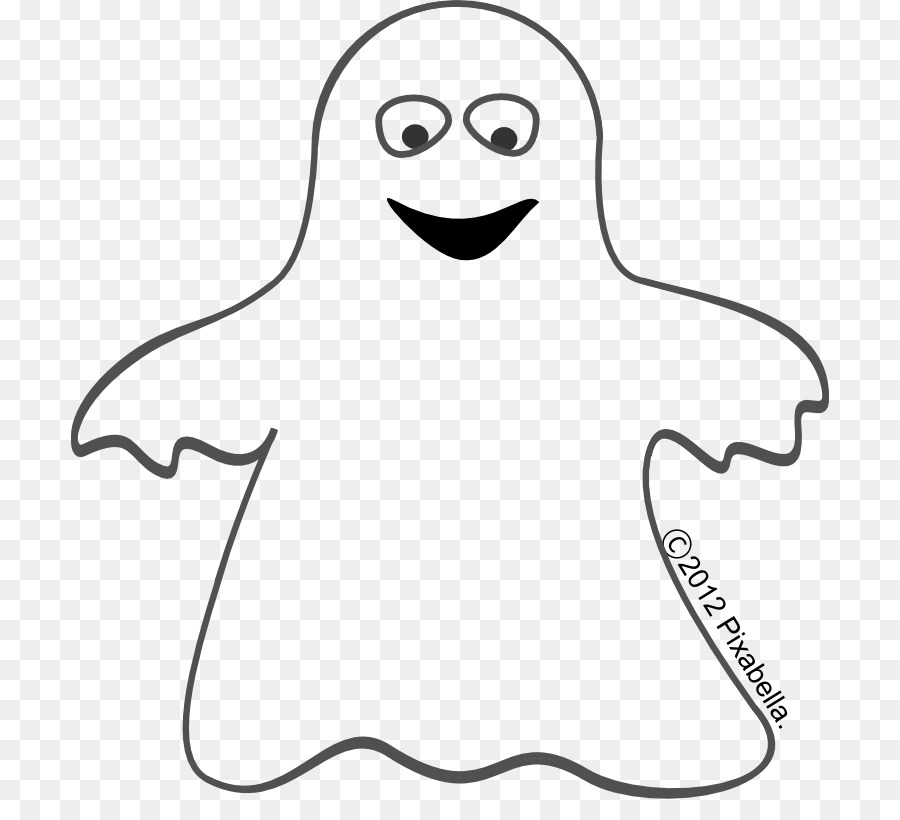 Flying ghost clipart black and white transparent stock Free Cute Ghost Transparent, Download Free Clip Art, Free Clip Art ... stock