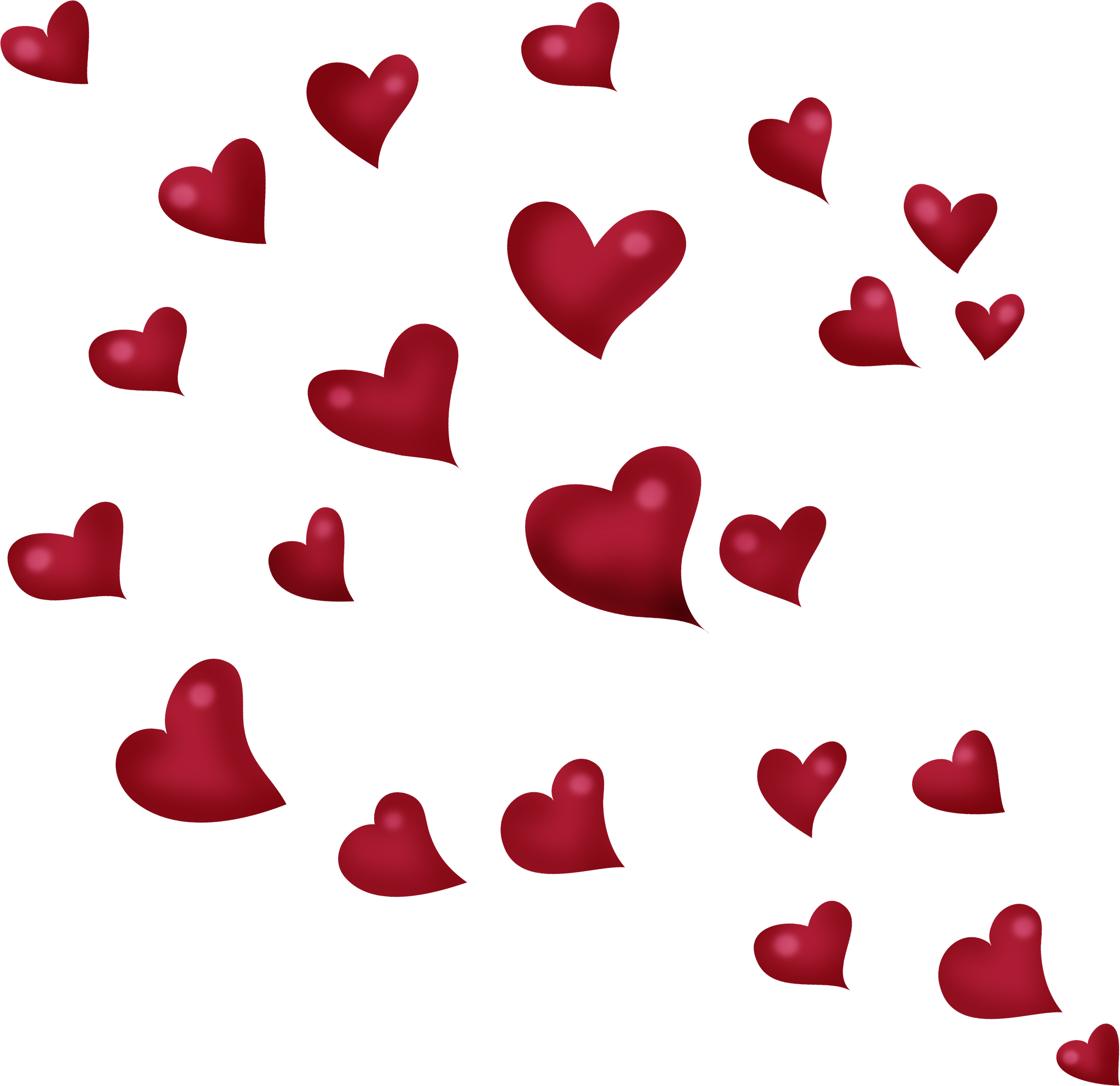 Flying heart clipart graphic free stock Flight Clip art - Flying Hearts Tanabata 2589*2510 transprent Png ... graphic free stock