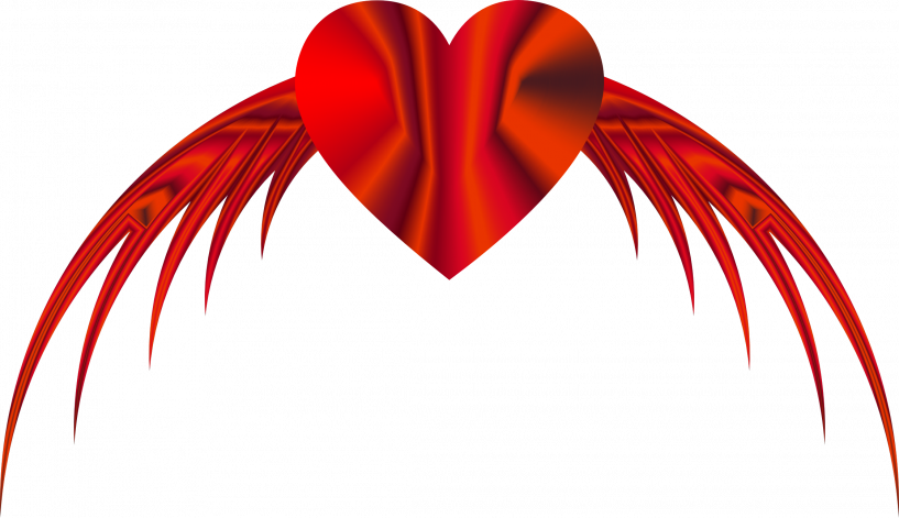 Flying heart clipart image transparent stock Free Flying Heart Clipart | jokingart.com Heart Clipart image transparent stock