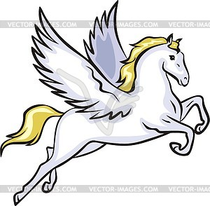 Flying horse clipart banner stock Winged horse - vector clipart | Clipart Panda - Free Clipart Images banner stock
